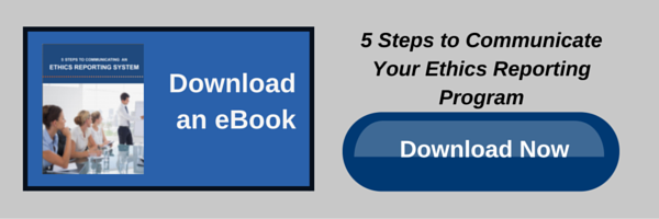 eBook 5 Steps to Communicate Your Ethics Reporting Program