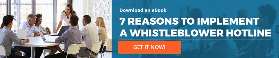 Criteria for an effective whistleblowing system