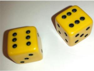 photo pair of dice