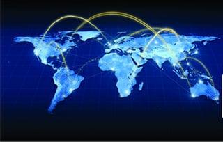 stock illustration world map
