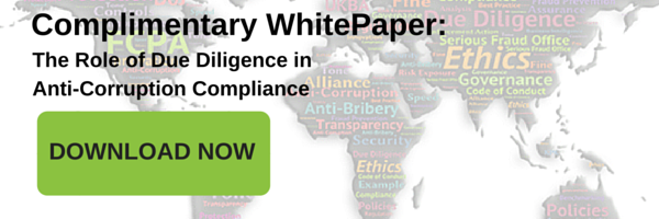 WhitePaper: The Role of Due Diligence in Anti-Corruption Compliance