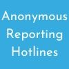 Anonymous Reporting Hotlines Button