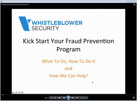 Webinar Recording: Kick Start Fraud Prevention