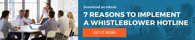 eBook: 7 Reasons to Implement a Whistleblower Hotline